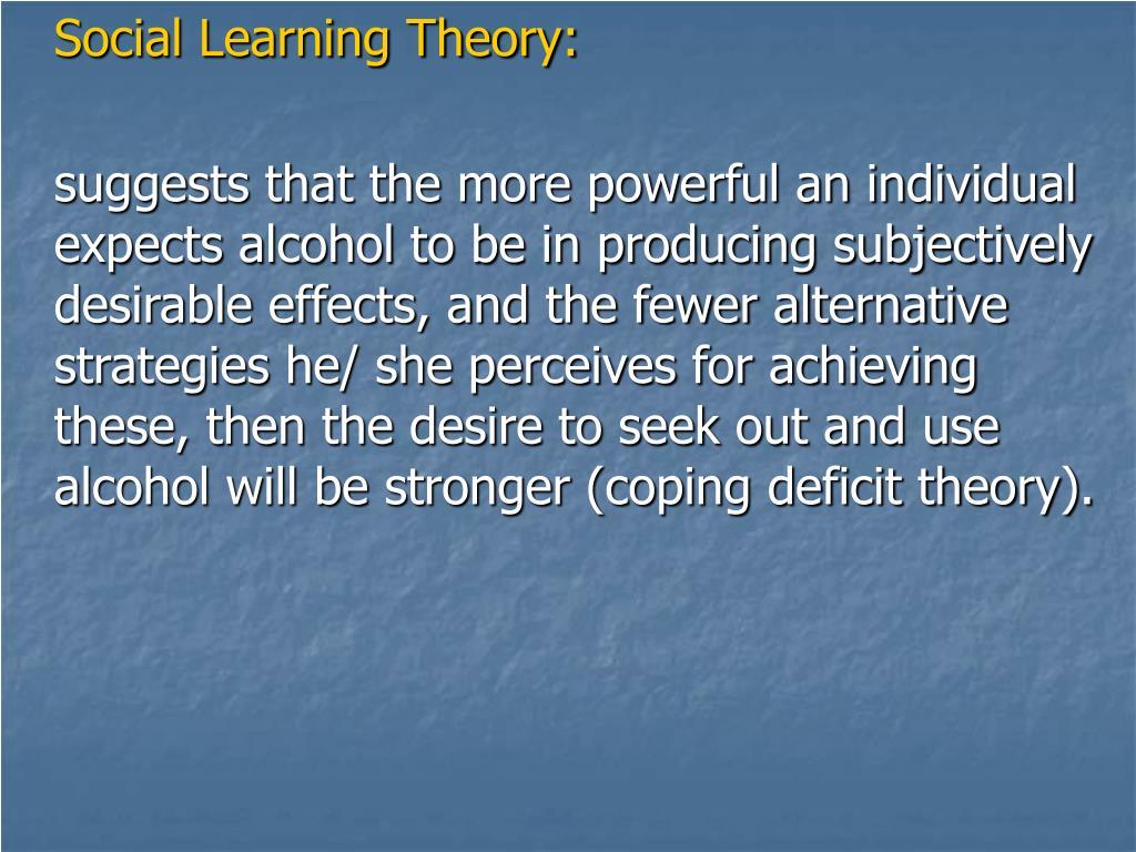 Social Learning Theory: