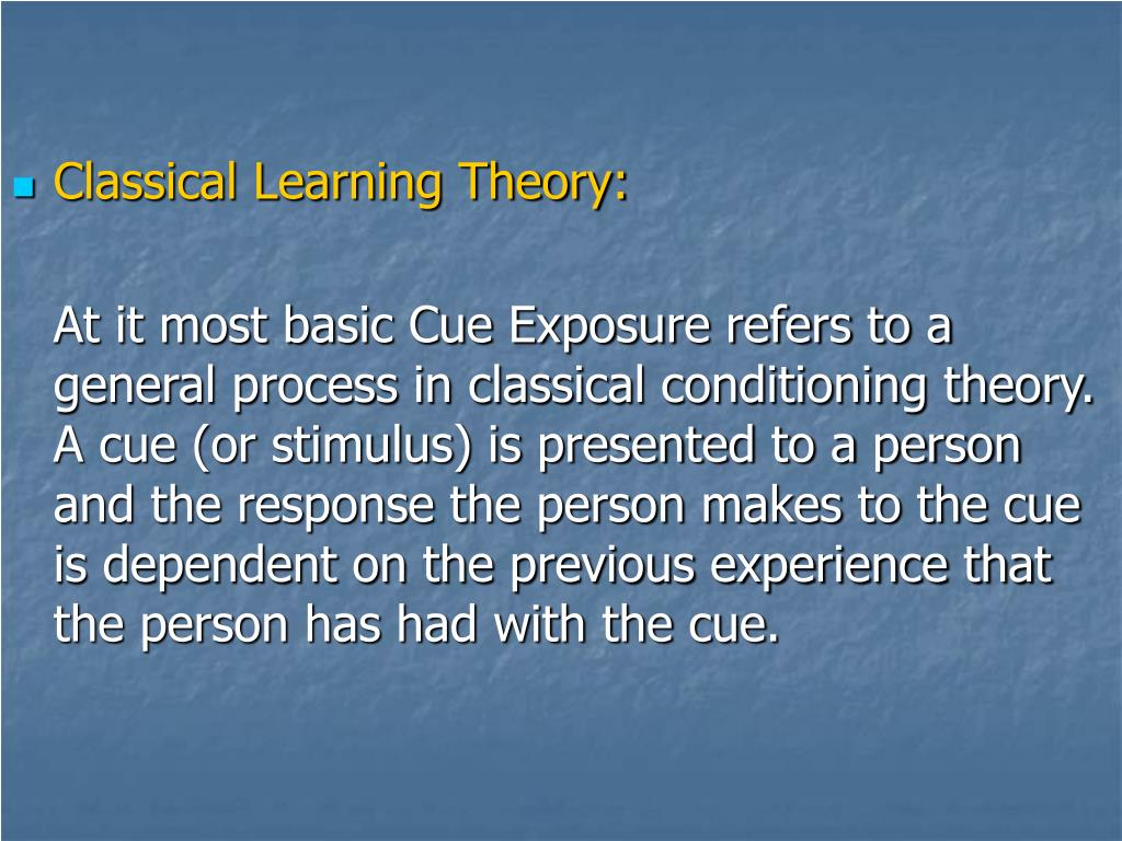 Classical Learning Theory: