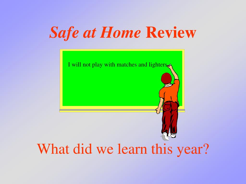 safe at home review l.