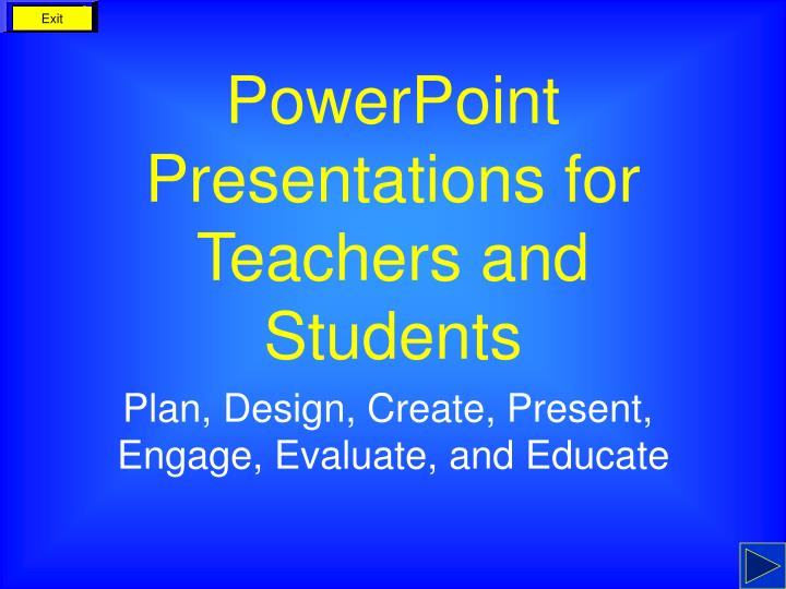powerpoint presentations for teachers and students n.