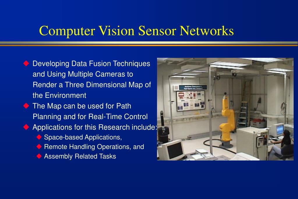 Computer Vision Sensor Networks