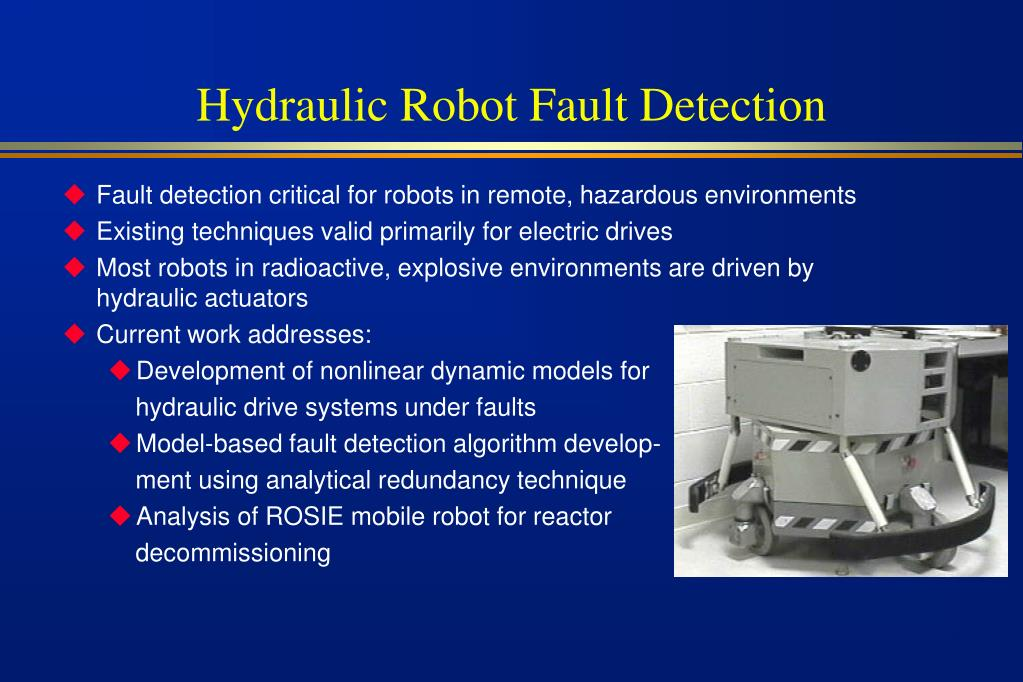 Hydraulic Robot Fault Detection