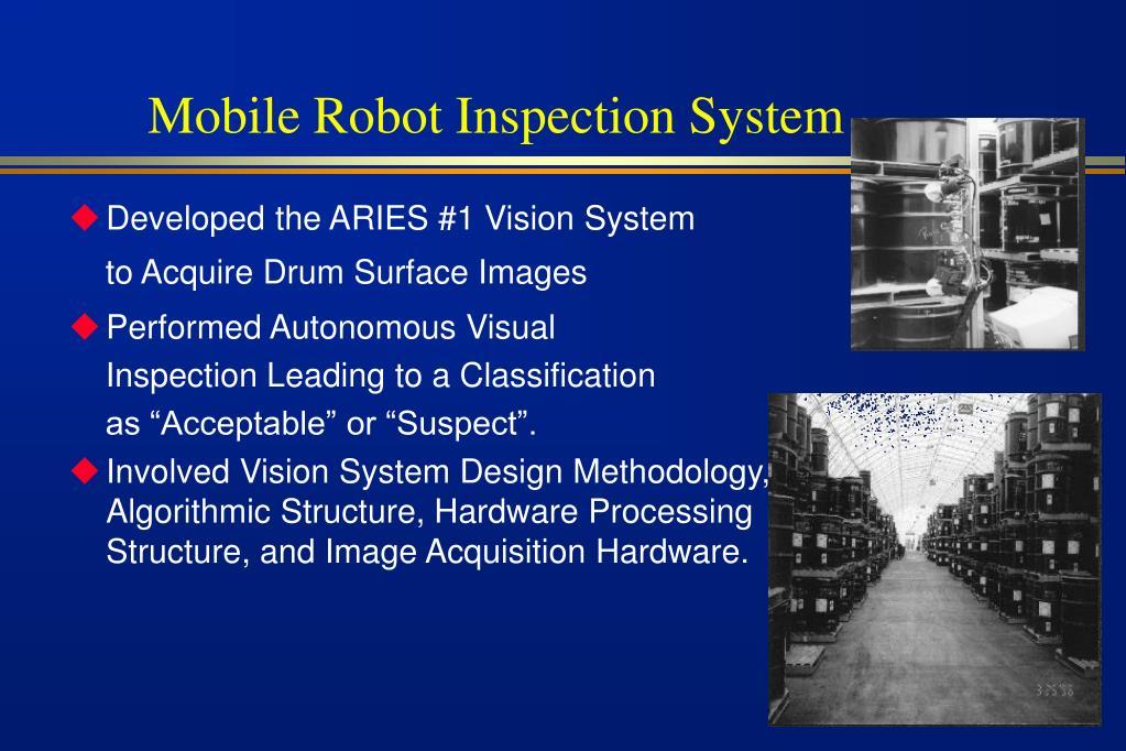 Mobile Robot Inspection System