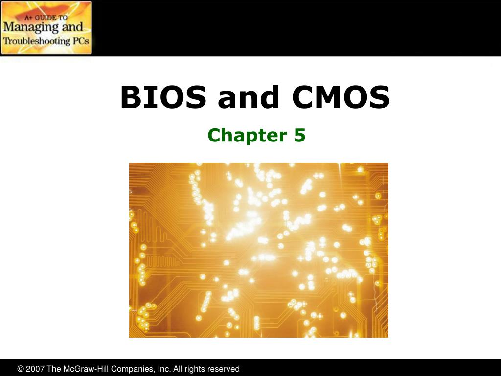 bios and cmos l.