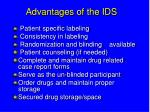 advantages of the ids34