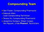 compounding team