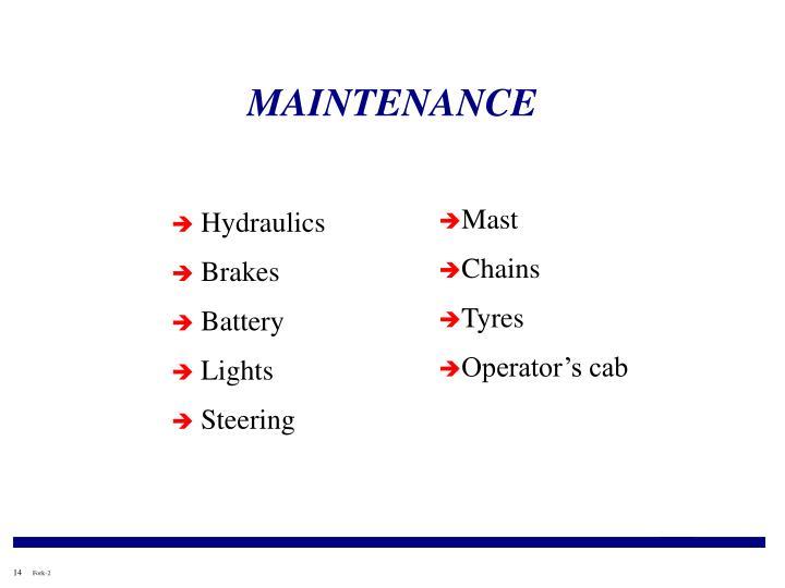 Ppt Forklift Safety Awareness Powerpoint Presentation