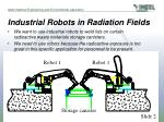 industrial robots in radiation fields3