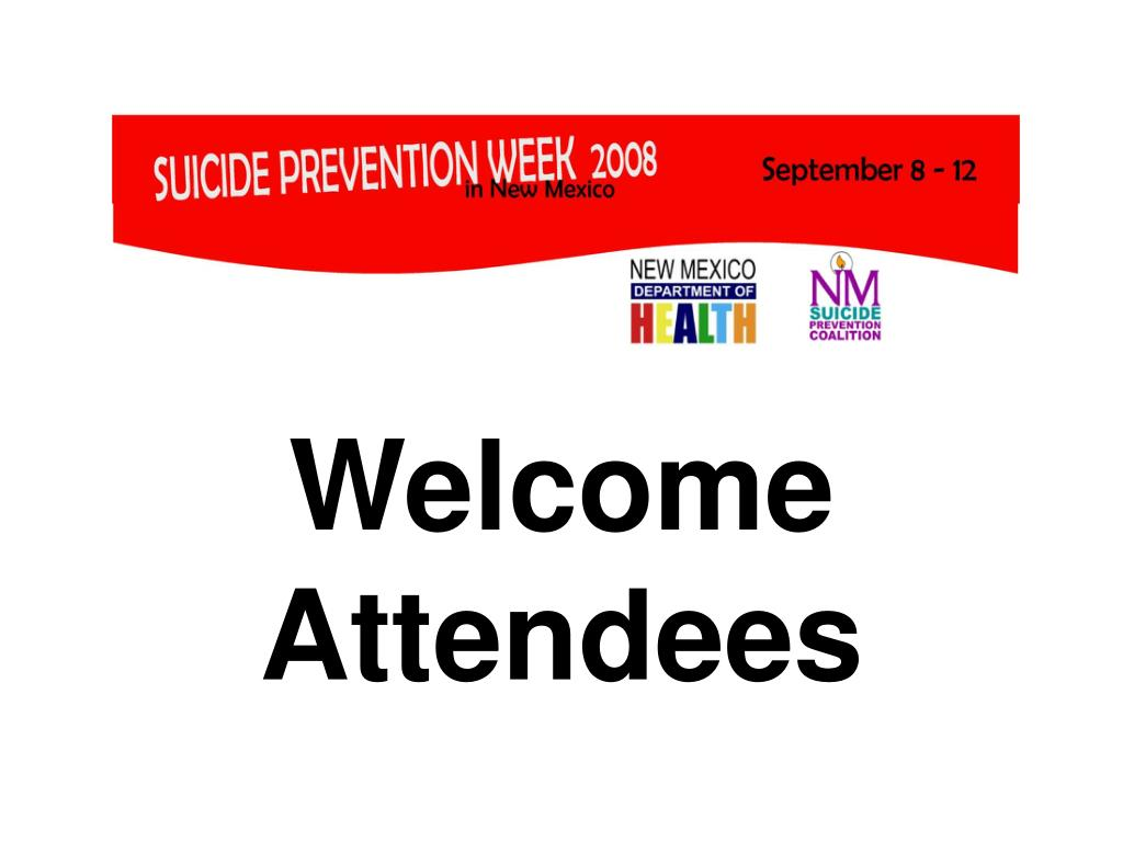 welcome attendees l.