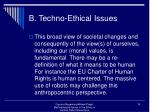 b techno ethical issues10