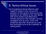 b techno ethical issues16