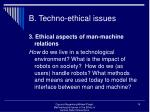 b techno ethical issues19