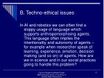 b techno ethical issues21