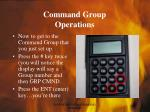 command group operations26