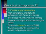 psychological components 5