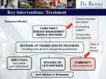 key interventions treatment