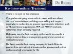 key interventions treatment10