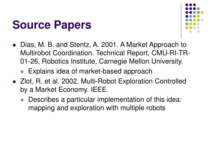 Source papers