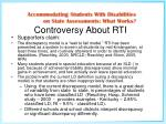 controversy about rti