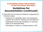 guidelines for documentation continued8