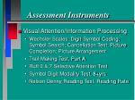 assessment instruments60