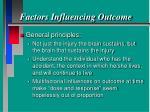 factors influencing outcome24