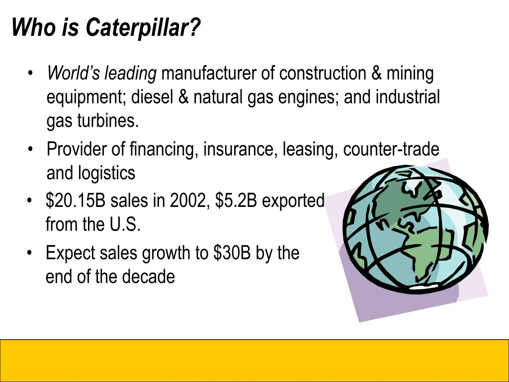 who is caterpillar l.