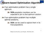 swarm based optimisation algorithm7