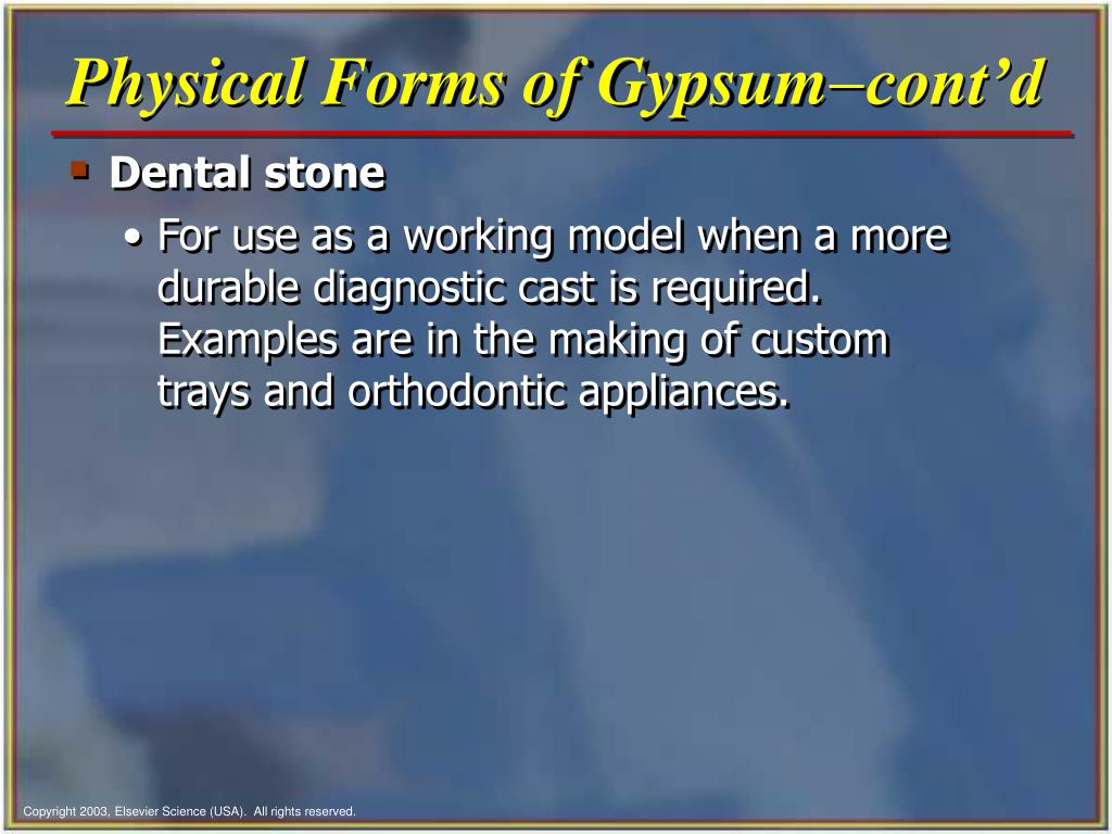 Physical Forms