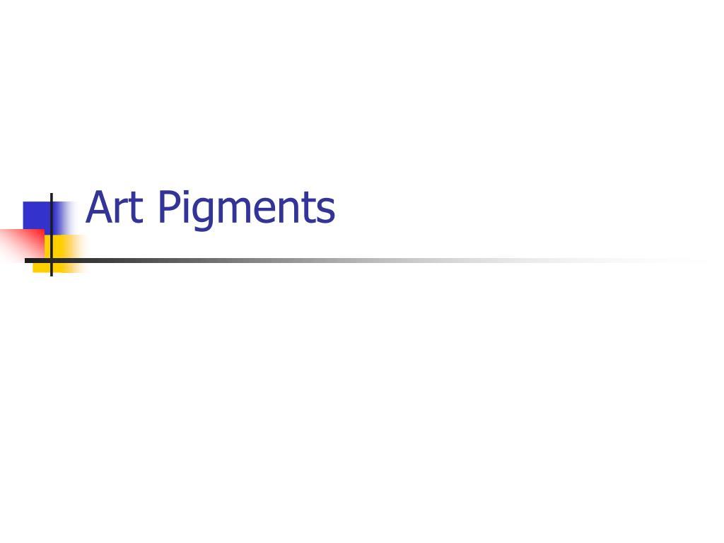 art pigments l.