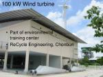 100 kw wind turbine