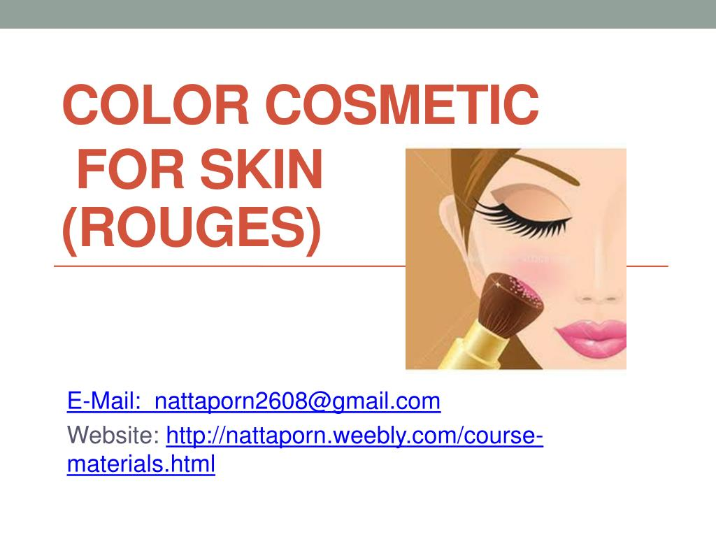 color cosmetic for skin rouges l.