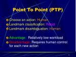 point to point ptp