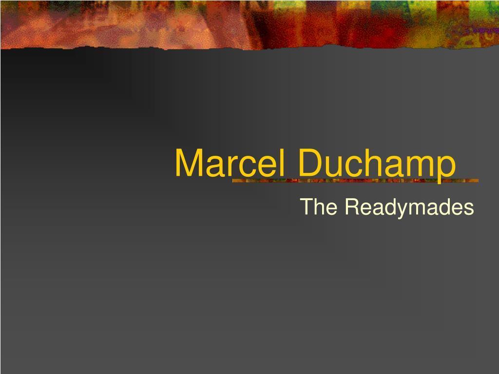 marcel duchamp l.