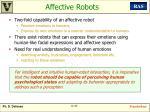 affective robots