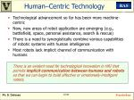 human centric technology