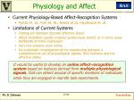 physiology and affect