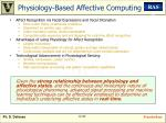 physiology based affective computing
