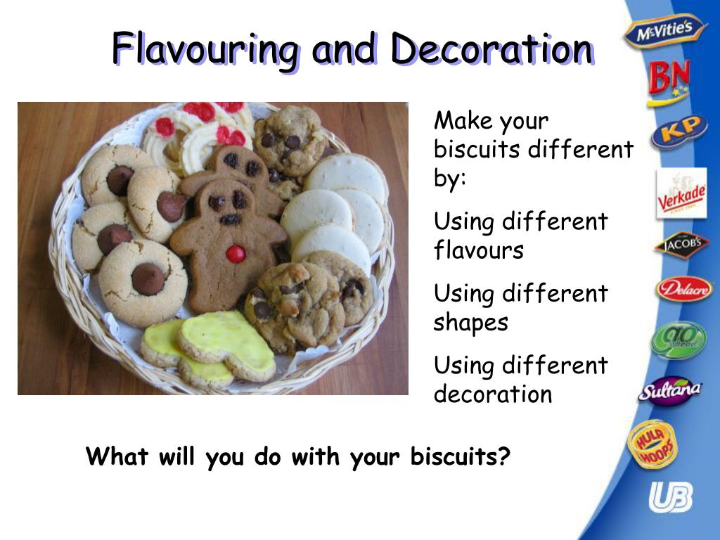 Flavouring and Decoration