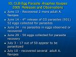 id clb egg parasite anaphes flavipes 2005 releases and observations