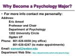 why become a psychology major10