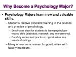 why become a psychology major3