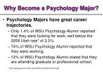why become a psychology major7