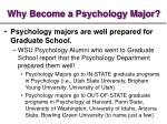 why become a psychology major8