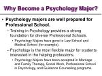 why become a psychology major9