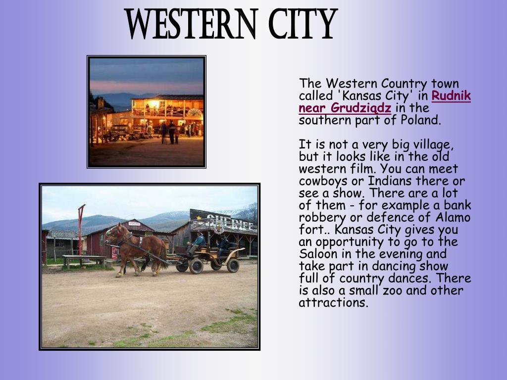 The Western Country town called 'Kansas City' in