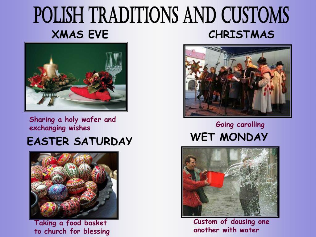Polish traditions and customs