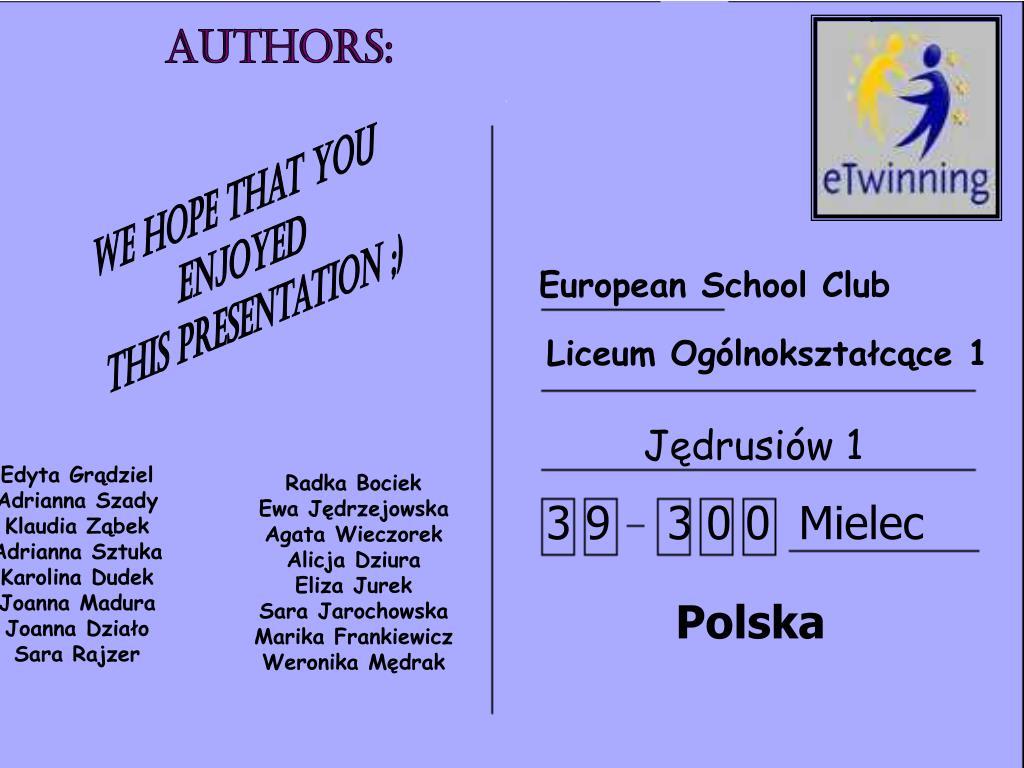 European School Club