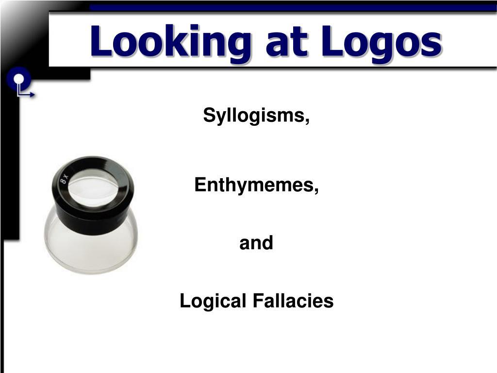 looking at logos l.
