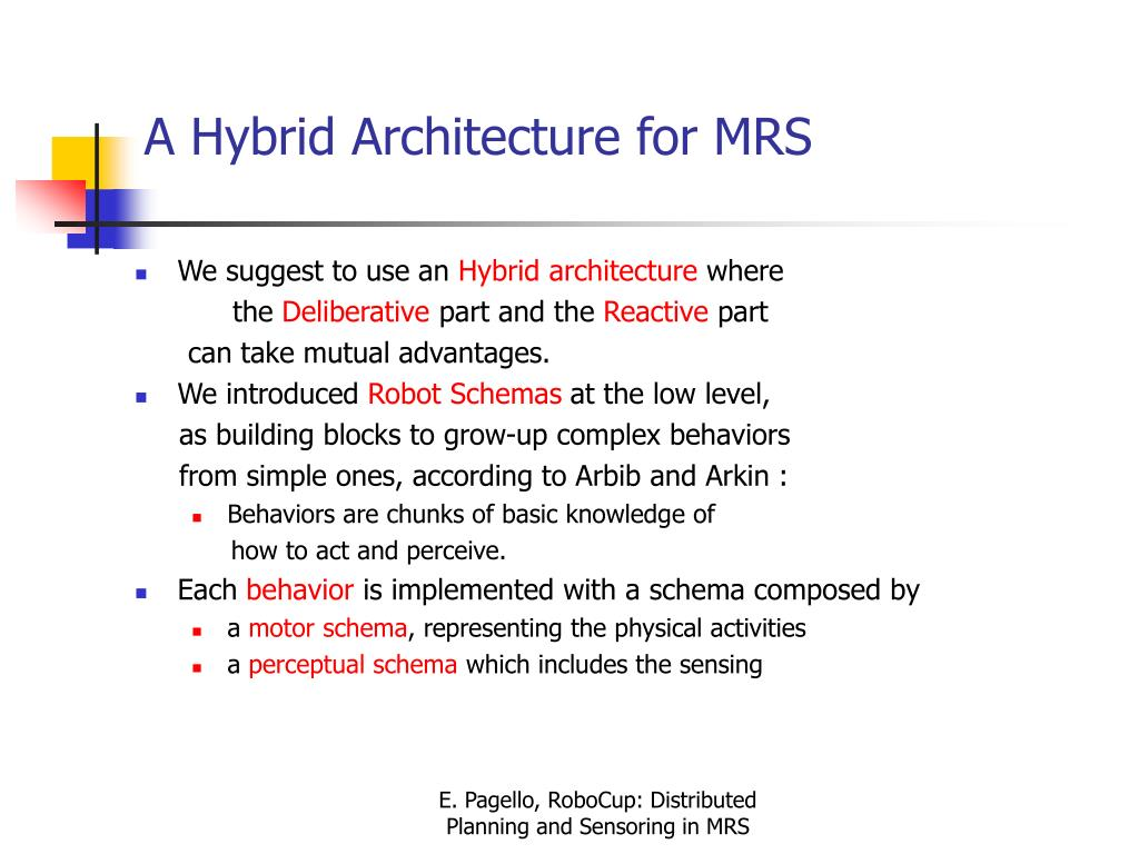 A Hybrid Architecture for MRS
